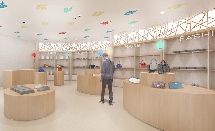 Beijing Airport Retail Zone Shop Design Standard